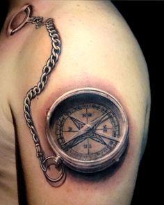 Best Compass Tattoo Designs And Ideas For Men and Women Hand Tattoos, Finger Tattoos, Body Art Tattoos, Rose Tattoos For Men, Tattoos For Guys, Tattoos For Women, Nautical Compass Tattoo, Compass Tattoo Design, Nautical Tattoos