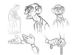 Cartoon, cartoon faces, cartoon drawings, man character, character design r Sketches, Character Design, Drawing People, Design Sketch, Design Reference, Old Man Pictures, Face Drawing, Character Design References, Old Man Cartoon