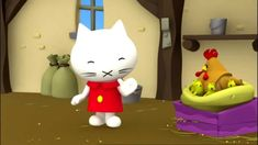 When Musti visits the farm, none of the animals are to be seen. They are all waiting impatiently at the chicken coop, where Mrs Hen is brooding her eggs. Elementary Spanish, Spanish Class, Little Learners, Hello Kitty, Preschool, Eggs, Youtube, 3d, Easter