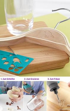 engrave wood w/ a dremel tool