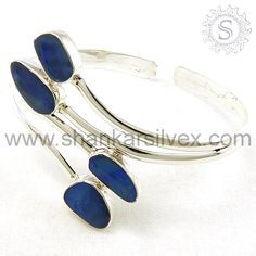 Enhance beauty of woman's hands in an elegant manner with lustrous white  Plain Silver Bangles.Our gemstone bangles jewelry is suitable for all occasions from formal to casual wear.More information please visit this site : http://www.indianjewelrycenter.com/