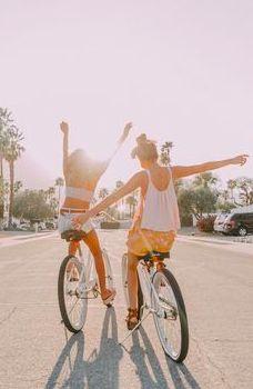 #stasia.stevenson #bikeride #sunny #glare Breathe, Aesthetic Backpack, Luca And Grae, Printable Workouts, Spring Aesthetic, Aesthetic People, 2020 Fashion Trends, Summer Design, Spring Looks