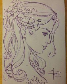 Ideas Disney Art Sketches Draw Tattoos For 2019 Girl Drawing Sketches, Pencil Art Drawings, Love Drawings, Disney Drawings, Tattoo Drawings, Disney Kunst, Disney Art, Arte Sketchbook, Drawing People