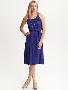 Braided belt knit dress | Banana Republic  Got this today for $2.79. Thank you 30% off sale and BananaCard rewards!