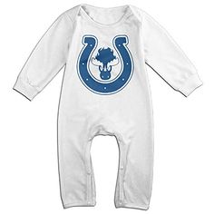 BOSYC Infant Indianapolis Rompers Baby Bodysuits * You can get more details at http://www.amazon.com/gp/product/B01M0V0MNQ/?tag=christmas3638-20&pcd=260916221924