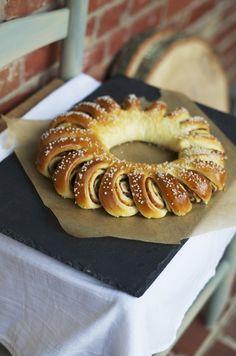 Date & Orange Tea Ring by foodwanderings