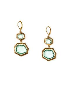 Faceted stones earrings#Repin By:Pinterest++ for iPad#