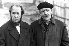 Alexander Solzhenitsyn & Heinrich Böll