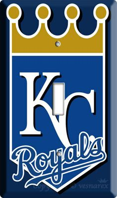 Kansas city Royals MLB baseball logo single light by DecorLounge, $6.99