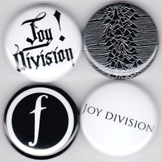 Joy Division | Ian Curtis An Ideal for Living Unknown Pleasures Still Buttons Pins Badges Pinback