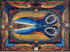 Adolf Wölfli  Schähren 1920s Outsider Art He was one of the first artists to be associated with the Art Brut or outsider art label.