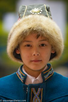 Little boy from Siberia