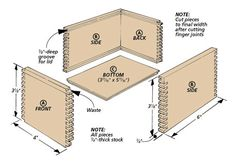 Plywood shelf plans This bookcase is made from 3 4 plywood ...  |Box Sturdy Made Parkour Plans