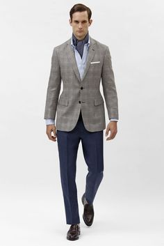 Brooks Brothers Men's RTW Spring 2014 - Slideshow - Runway, Fashion Week, Reviews and Slideshows - WWD.com