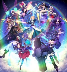 Fate/Grand Order is a mobile phone game entry in the Fate franchise, developed jointly by Type-Moon and mobile company DelightWorks and published in … The Legend Of Zelda, Nasu, Metal Gear, Sword Art Online, Online Art, Tv Tropes, Fate Anime Series, Fate Zero, Type Moon