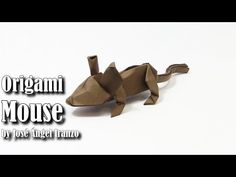 Origami MOUSE easy by José Ángel Iranzo - Yakomoga Origami easy tutorial: how to make a paper origami mouse easy by José Ángel Iranzo como fazer um mouse de origami de papel cómo hacer un ratón de papel de origami comment faire une souris en papier origami wie man ein Papier origami Maus macht 종이 접기 마우스 만드는 법 紙の折り紙の作り方   ================================================== I respect the copyrights of the model taken by me on this if you are the author of this model and want me to delete the…