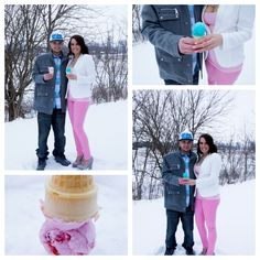 Our gender reveal announcement! :)