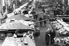Production of tank destroyers Jagdpanzer at the Skoda factory, Army Vehicles, Armored Vehicles, Imperial Japanese Navy, Tank Destroyer, Armored Fighting Vehicle, Ww2 Tanks, World Of Tanks, Military Police, German Army