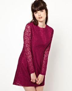 Pop+Boutique+Lace+Skater+Dress