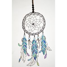 #dreamcatcher drawing