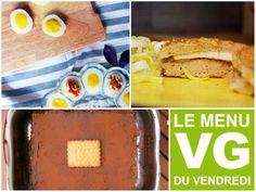 Coucou les loulous, Chaque semaine, le menu VG du vendredi part à la découverte de la blogosphère VG & francophone pour vous aider à cuisiner végétalien un jour par semaine… Ou plus ! :-)… Pancakes, Breakfast, Food, Canteen, Peek A Boos, Friday, Cooking Food, Morning Coffee, Essen