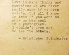 Their tears were their love poem 21 by Christopherspoetry on Etsy