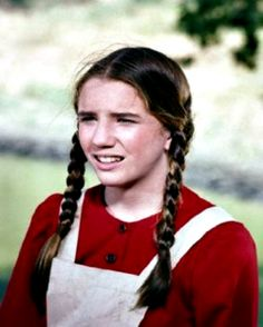 Melissa Gilbert as Laura Ingalls from the article Little House on the Prairie Gifts.