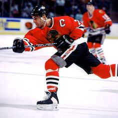 Chris Chelios as Captain for the Chicago Blackhawks Blackhawks Hockey, Hockey Teams, Chicago Blackhawks, Ice Hockey, Chris Chelios, Chicago Girls, Hockey Room, Captain My Captain, Hockey World