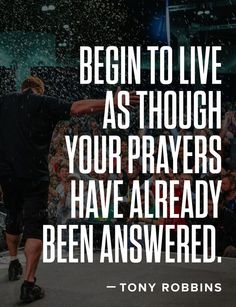 """It's easy to think of prayer as a """"Please.""""  Today, let's make it a """"Thank You""""…"""