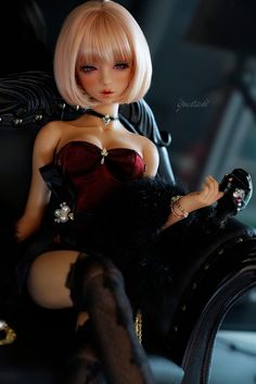 Find images and videos about doll and bjd on We Heart It - the app to get lost in what you love. Anime Dolls, Bjd Dolls, Barbie Dolls, Pretty Dolls, Beautiful Dolls, Evvi Art, Enchanted Doll, Gothic Dolls, Anime Figurines