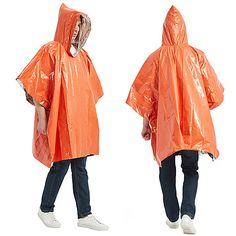 Season:Summer,Spring,Autumn / Fall; Fabric:Polyester; Gender:Men's; Activity:Running,Camping / Hiking / Caving,Traveling,Fishing; Clothing Type:Poncho,Raincoat,Top; Function:Waterproof,Heat Retaining,Sun Protection,Breathable,Ultra Light (UL),Sweat wicking,Lightweight,Quick Dry,Portable; Pattern:Solid Color; Sports Clothing Sub Category:Waterproof Hiking Jacket,Rain Poncho,Rain Jacket; Listing Date:02/24/2021 Poncho Raincoat, Rain Poncho, Hiking Jacket, Rain Jacket, Poncho Tops, Jackets Online, Sun Protection, Sport Outfits, Spring Summer