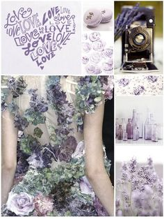 Flower Fashion - purple & green flower dress with structured bodice & cobweb detail - haute couture, fashion details // Alexander McQueen Fashion Details, Look Fashion, Fashion Art, High Fashion, Fashion Design, Fashion Week, Paris Fashion, Runway Fashion, Fashion Spring