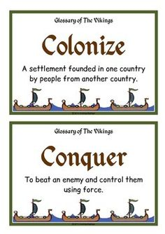 Glossary of the Vikings School Displays, Classroom Displays, Teacher Hacks, Best Teacher, Around The World Theme, 5th Grade Social Studies, History For Kids, History Projects, Teaching Tips
