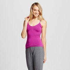 Women's Pajama Seamless Camisole Exciting Purple L