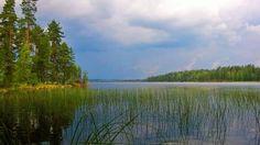 Ukkonen lähestyy / Thunderstorm approaching Näsijärvi, Finland