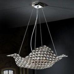 Lámpara Santen de 4 luces. Dos tamaños