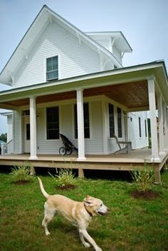 really like this open porch