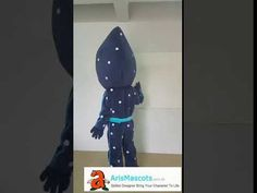Adult PJ Masks Night Ninja suit mascot outfit for birthday party