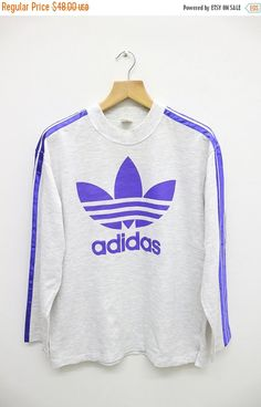 SALE 25% OFF Vintage ADIDAS TriFoil Hip Hop by VintageClothingMall