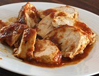 Easy Oven Barbecued Chicken Breasts