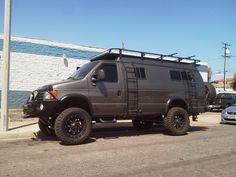 Luxury 4x4 Van4wd Vanlifted Vanoff Road Van4x4 Camper Van