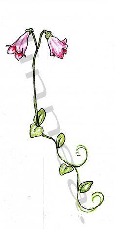 Linnea flower tattoo design AEA