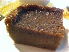 Authentic Jamaican Sweet Potato Pudding (made by my old Aunt) Jamaican Desserts, Jamaican Cuisine, Jamaican Dishes, Jamaican Recipes, Jamaican Fruit Cake, Carribean Food, Caribbean Recipes, Flan, Pudding Recipes