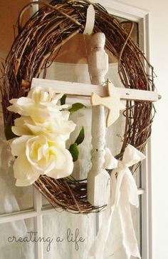 Creating A Life: The Easter Wreath