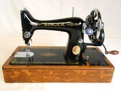 ❤✄◡ً✄❤ Singer 99K Sewing Machine - 1950's