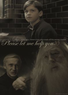 Draco, Dumbledore, and Tom Riddle