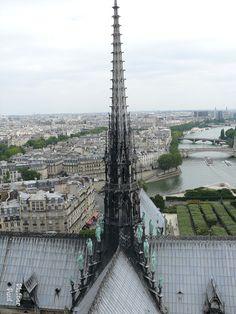 Spire of Notre Dame Paris
