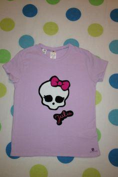 Camiseta niña Monster HIgh