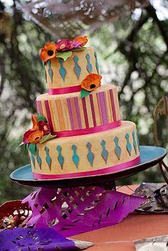 Moroccan Themed Wedding Cake Atlanta Ga