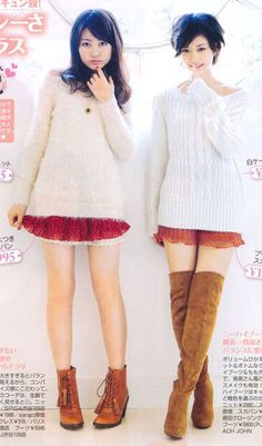 [Fashion] Surefire Coordinations for Girls of All Heights! Part 2 | Misa-chan's J-Lifestyle Blog ♥
